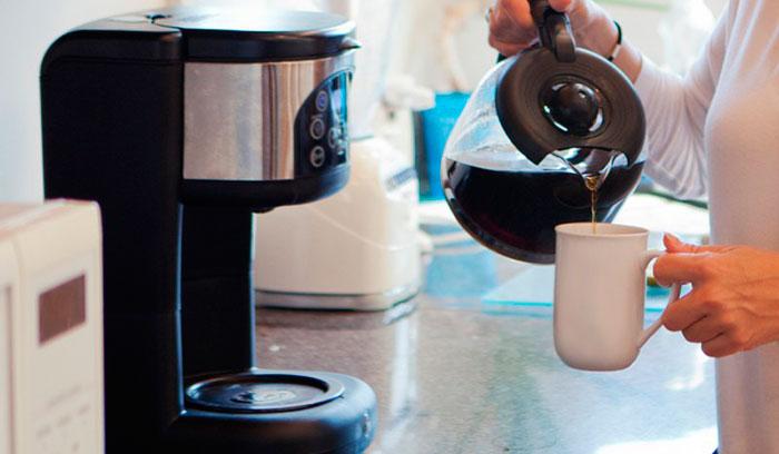 Использование капельной кофеварки