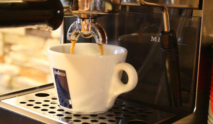 Использование рожковой кофемашины