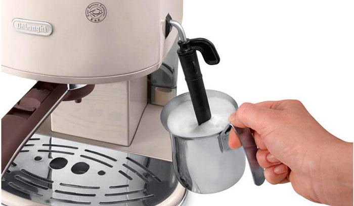 Особенности рожковой кофемашины