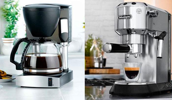 Какая кофеварка лучше – капельная или рожковая