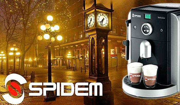 Кофемашины Spidem
