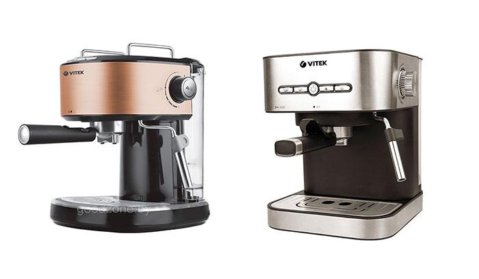 Рожковые кофеварки Vitek