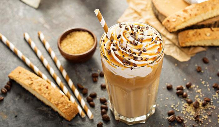 Рецепты кофе с карамелью