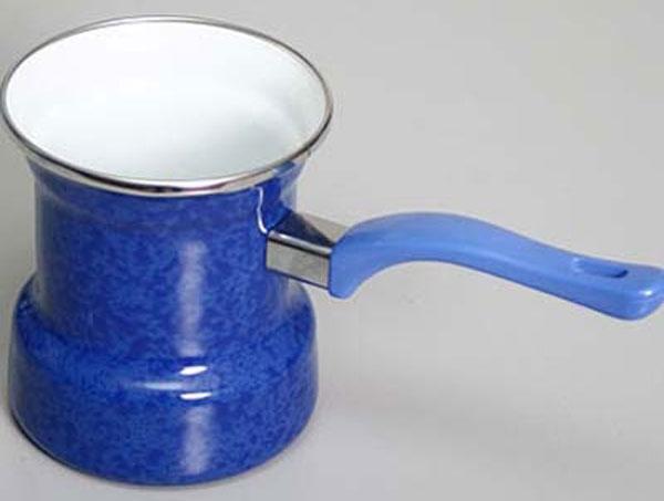 Эмалированная турка для кофе