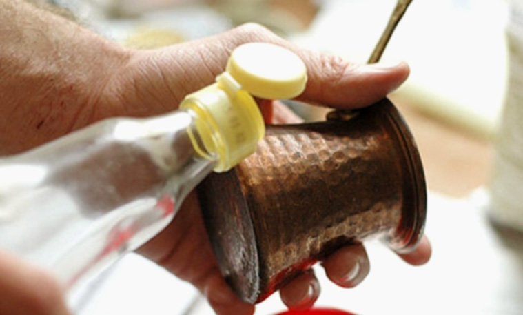 Как почистить медную турку?