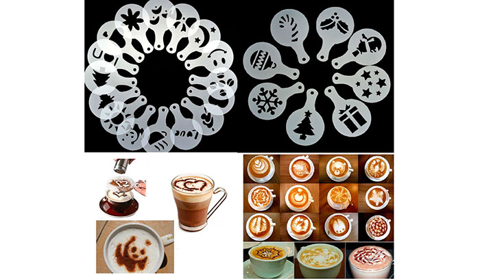 Как называется кофе с рисунком на пенке