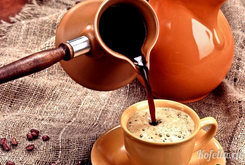 Как варить кофе в керамической турке