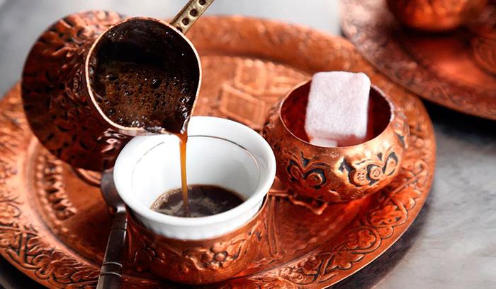 Какой кофе варят в турке