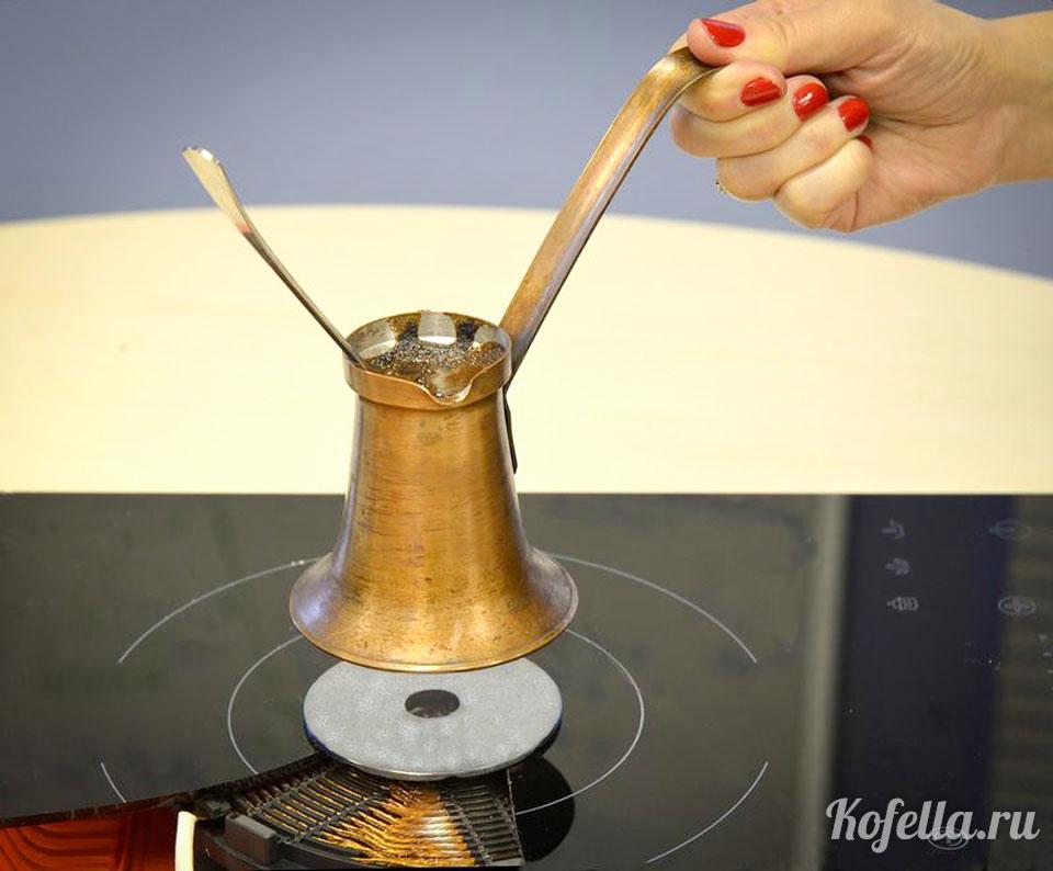 Турка для стеклокерамической плиты