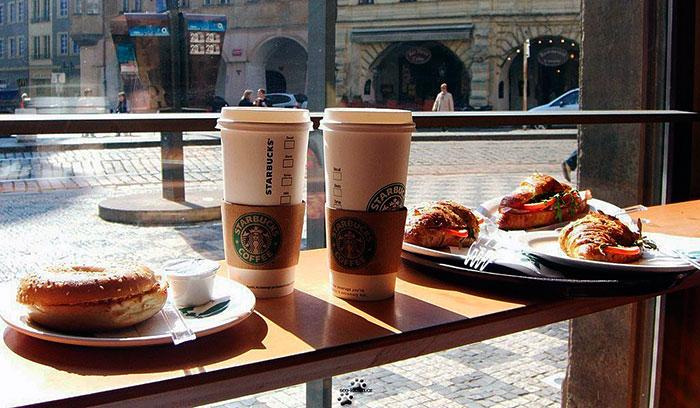 Сетевые кафе-бары, предоставляющие капучино