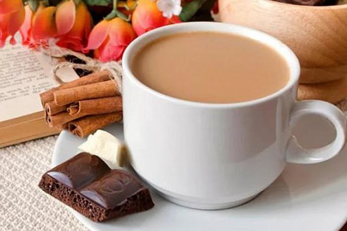 Сколько калорий в кофе с молоком без сахара?