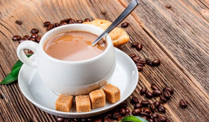 Калорийность кофе с молоком и сахаром
