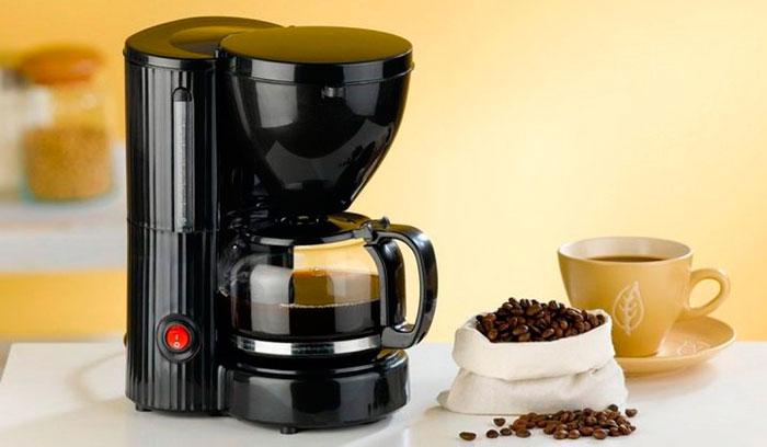 Капельная кофеварка перестала подавать воду