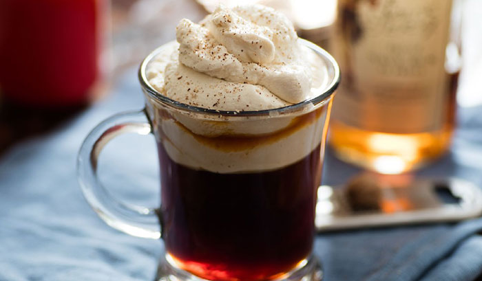 С каким алкоголем пьют кофе