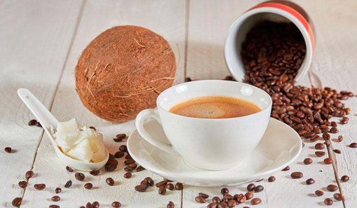 Рецепт капучино на кокосовом молоке