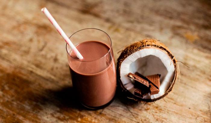 Шоколадно-кокосовый кофе