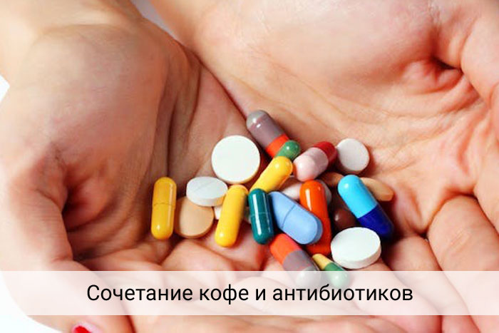 Совместим ли кофе с антибиотиками