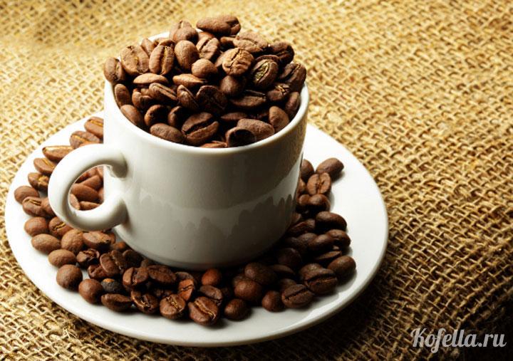 сколько миллиграмм в чашке кофе